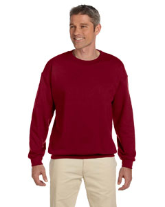 Garnet Heavy Blend™ 8 oz., 50/50 Fleece Crew