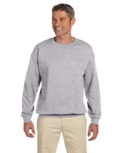 Sport Grey Heavy Blend™ 8 oz., 50/50 Fleece Crew