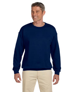 Navy Heavy Blend™ 8 oz., 50/50 Fleece Crew