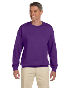 Purple Heavy Blend™ 8 oz., 50/50 Fleece Crew