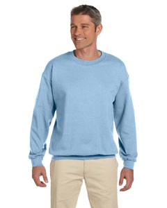 Light Blue Heavy Blend™ 8 oz., 50/50 Fleece Crew
