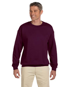 Maroon Heavy Blend™ 8 oz., 50/50 Fleece Crew