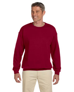 Cardinal Red Heavy Blend™ 8 oz., 50/50 Fleece Crew