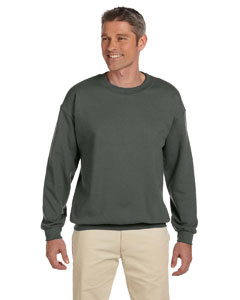 Military Green Heavy Blend™ 8 oz., 50/50 Fleece Crew