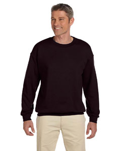 Dark Chocolate Heavy Blend™ 8 oz., 50/50 Fleece Crew