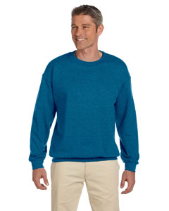 Antique Sapphire Heavy Blend™ 8 oz., 50/50 Fleece Crew