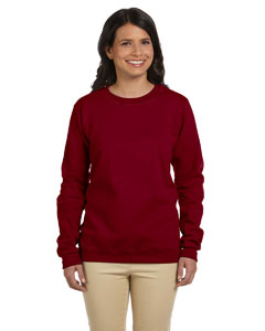 Garnet Women's 8 oz. Heavy Blend™ 50/50 Fleece Crew