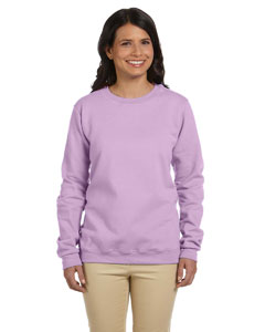 Orchid Women's 8 oz. Heavy Blend™ 50/50 Fleece Crew