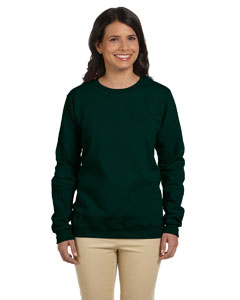 Forest Green Women's 8 oz. Heavy Blend™ 50/50 Fleece Crew
