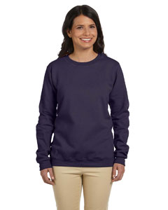 Blackberry Women's 8 oz. Heavy Blend™ 50/50 Fleece Crew