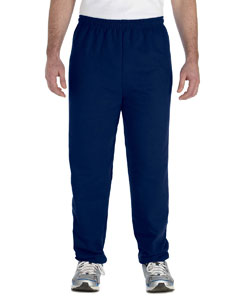 Navy Heavy Blend™ 8 oz., 50/50 Sweatpants