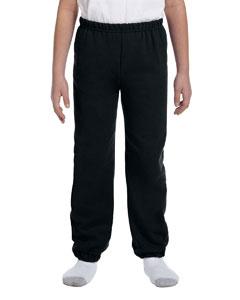 Black Heavy Blend™ Youth 8 oz., 50/50 Sweatpants