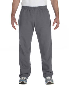 Charcoal Heavy Blend™ 8 oz., 50/50 Open-Bottom Sweatpants