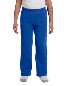Royal Heavy Blend™ Youth 8 oz., 50/50 Open-Bottom Sweatpants