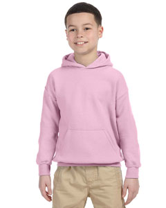 Light Pink Heavy Blend™ Youth 8 oz., 50/50 Hood