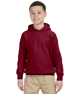 Garnet Heavy Blend™ Youth 8 oz., 50/50 Hood
