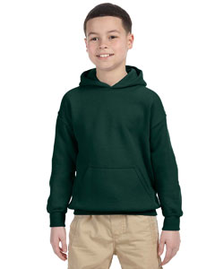Forest Green Heavy Blend™ Youth 8 oz., 50/50 Hood