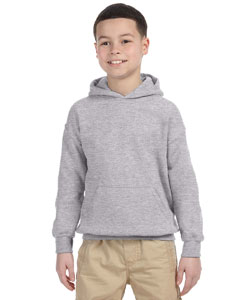 Sport Grey Heavy Blend™ Youth 8 oz., 50/50 Hood