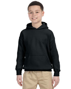 Black Heavy Blend™ Youth 8 oz., 50/50 Hood
