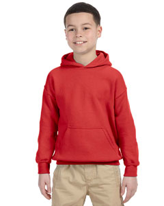 Red Heavy Blend™ Youth 8 oz., 50/50 Hood