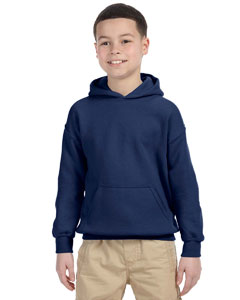 Navy Heavy Blend™ Youth 8 oz., 50/50 Hood