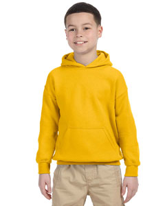 Gold Heavy Blend™ Youth 8 oz., 50/50 Hood