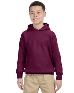 Maroon Heavy Blend™ Youth 8 oz., 50/50 Hood