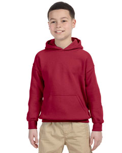 Cardinal Red Heavy Blend™ Youth 8 oz., 50/50 Hood