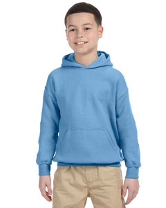Carolina Blue Heavy Blend™ Youth 8 oz., 50/50 Hood