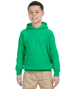 Irish Green Heavy Blend™ Youth 8 oz., 50/50 Hood