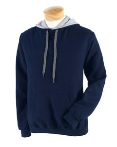 Navy/sport Grey Heavy Blend™ 8 oz., 50/50 Contrast Hood
