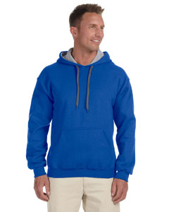 Royal/sport Grey Heavy Blend™ 8 oz., 50/50 Contrast Hood