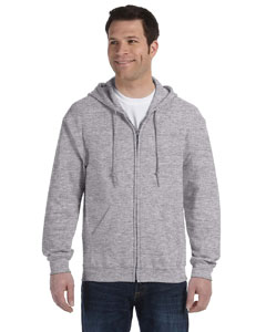 Sport Grey Heavy Blend™ 8 oz., 50/50 Full-Zip Hood