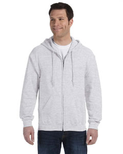 Ash Heavy Blend™ 8 oz., 50/50 Full-Zip Hood
