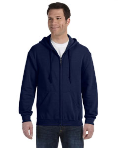 Navy Heavy Blend™ 8 oz., 50/50 Full-Zip Hood