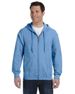 Carolina Blue Heavy Blend™ 8 oz., 50/50 Full-Zip Hood
