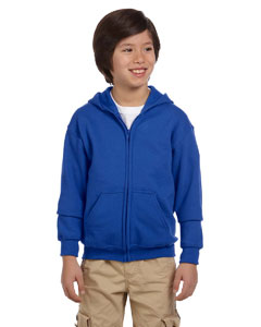 Royal Heavy Blend™ Youth 8 oz., 50/50 Full-Zip Hood