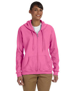 Azalea Women's 8 oz. Heavy Blend™ 50/50 Full-Zip Hood