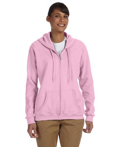 Light Pink Women's 8 oz. Heavy Blend™ 50/50 Full-Zip Hood