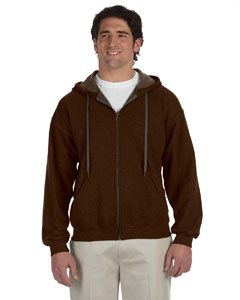 Russet Heavy Blend™ 8 oz. Vintage Classic Full-Zip Hood