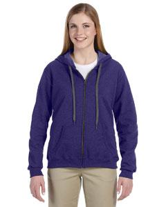 Lilac 8 oz. Heavy Blend™ Vintage Missy Fit Full-Zip Hood