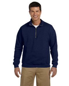 Navy Heavy Blend™ 8 oz. Vintage Classic Quarter-Zip Cadet Collar Sweatshirt