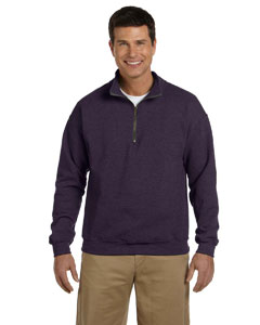 Blackberry Heavy Blend™ 8 oz. Vintage Classic Quarter-Zip Cadet Collar Sweatshirt