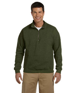 Moss Heavy Blend™ 8 oz. Vintage Classic Quarter-Zip Cadet Collar Sweatshirt
