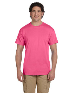 Safety Pink Ultra Cotton® 6 oz. T-Shirt