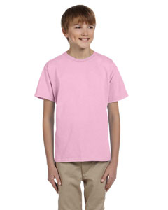 Light Pink Ultra Cotton® Youth 6 oz. T-Shirt