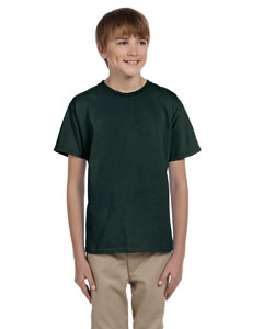 Forest Green Ultra Cotton® Youth 6 oz. T-Shirt