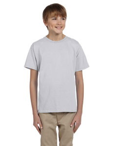 Ash Grey Ultra Cotton® Youth 6 oz. T-Shirt