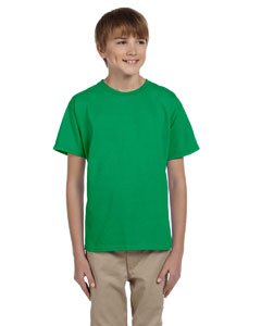 Irish Green Ultra Cotton® Youth 6 oz. T-Shirt
