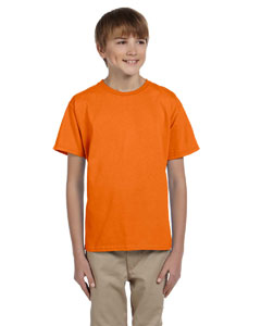 Safety Orange Ultra Cotton® Youth 6 oz. T-Shirt